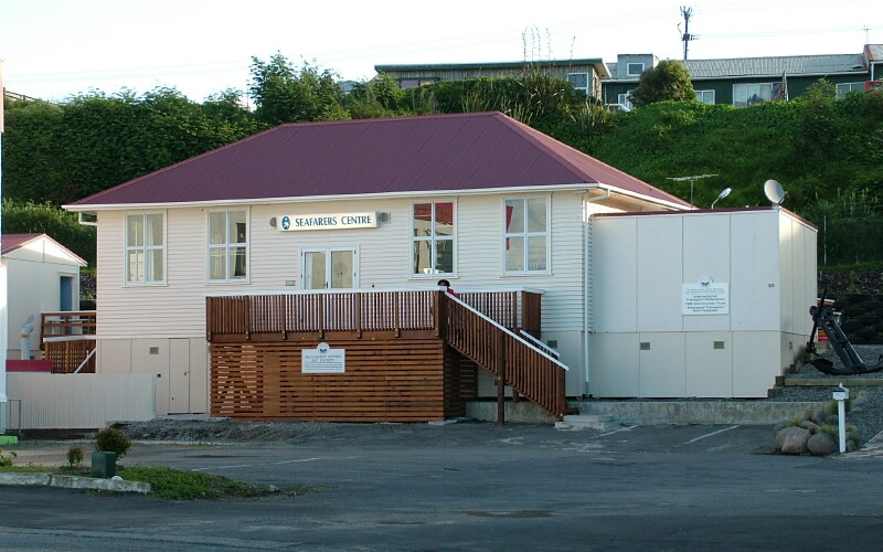Seafarers Centre in Port Taranaki (New Plymouth)